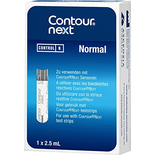 Contour next Kontrolllösung normal 1 stk von Ascensia Diabetes Care Deutsch