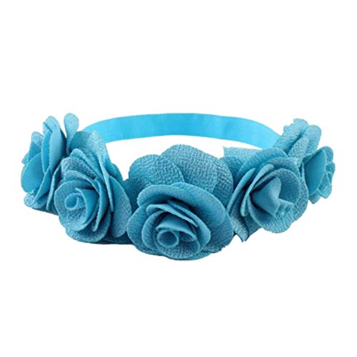 Beaupretty Frauen Stirnband Party Haar Reifen Stoff Kunst Girlande Dekorative Blumen Haar Kranz Party Liefert Frauen Kopfschmuck Hochzeit Haarbänder für Kinder Kinder von Beaupretty