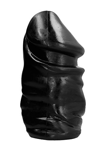 All Black ultra dicker Analdildo/Analplug - 33 cm Länge - Schwarz von ALL BLACK
