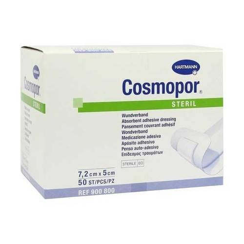 Cosmopor steril 5x7,2 cm von Bios Medical Services GmbH