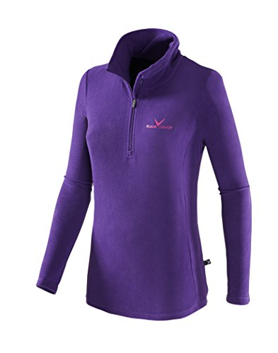 Black Crevice Damen Skirolli, violett/Magenta, 44 von Black Crevice