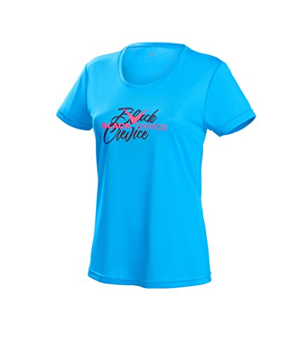 Black Crevice Damen T-Shirt Function, blue2, 42 von Black Crevice