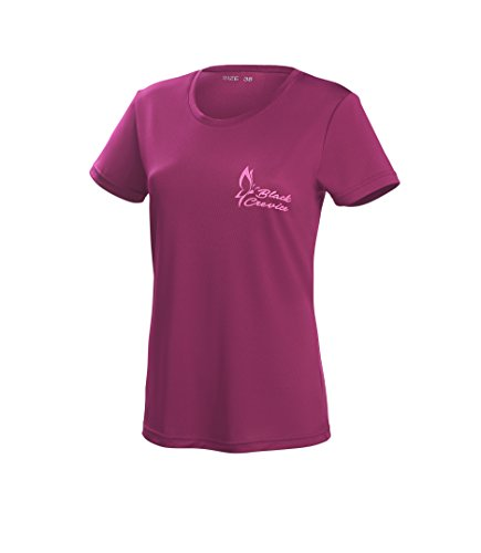 Black Crevice Damen T-Shirt Function, purple2, 38 von Black Crevice