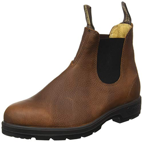 Blundstone Damen Classic Leather 1445 Chelsea Boots, Braun (Brown Pebble Brown Pebble), 45 EU von Blundstone