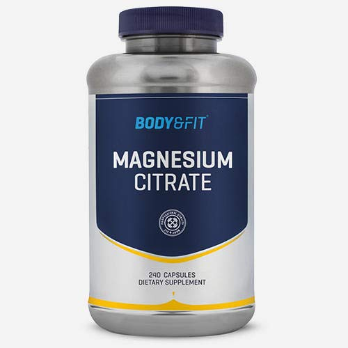 Body & Fit Magnesium Citrat 500mg 240 Kapseln von Body & Fit