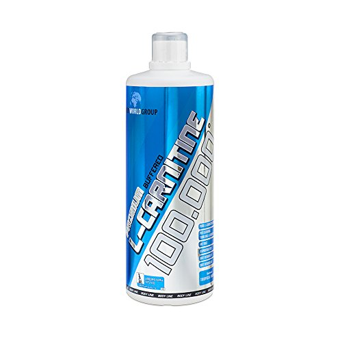 BWG L-Carnitin 100.000 Liquid - extrem Hochdosiert - Professional + Vitamin B1 und B6 - Body Line, Definitionsphase - Vegan - 1er Pack (1x1000ml) von Bodyworldgroup