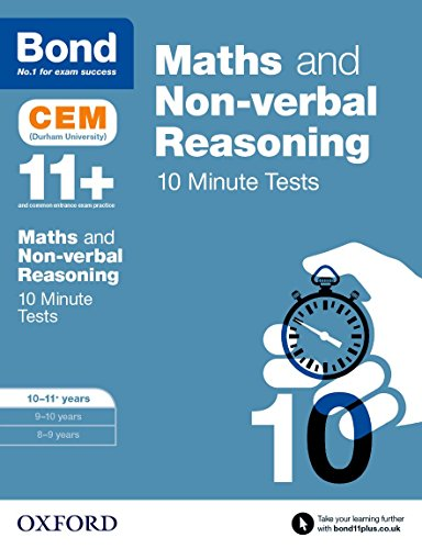 Hughes, M: Bond 11+: Maths & Non-verbal reasoning: CEM 10 Mi: 10-11 years von imusti