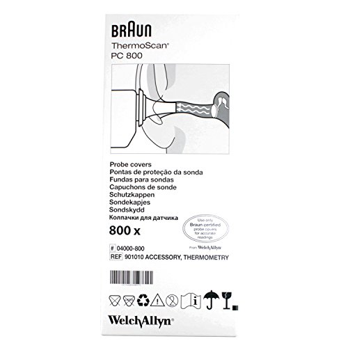 Braun Thermoscan Objektiv Filter x 800 (PC800 bulk box) von Braun