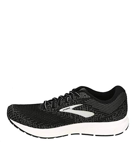 Brooks Womens Revel 3 Running Shoe, Black/Blackened Pearl/White, 36.5 EU von Brooks