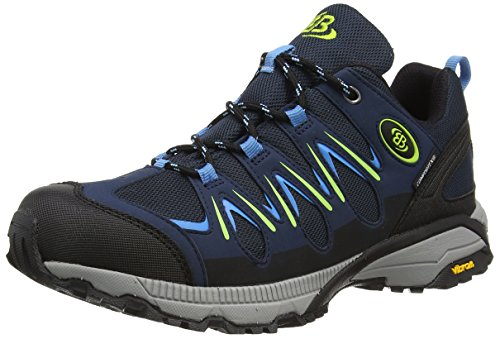 Bruetting EXPEDITION, Herren Trekking- & Wanderhalbschuhe, Blau (MARINE/BLAU/LEMON), 46 EU (12 Herren UK) von Bruetting