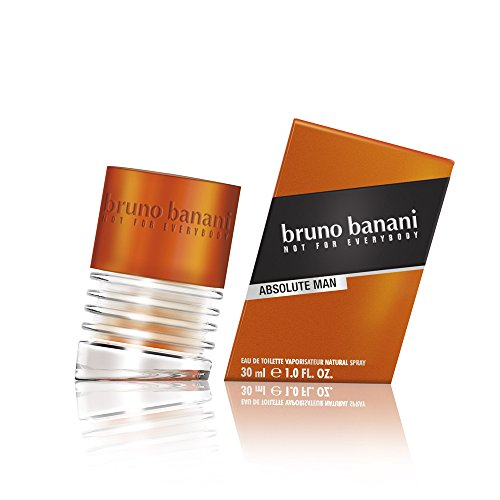 bruno banani Absolute Man – Eau de Toilette Natural Spray – Aufregend-maskulines Herren Parfüm – 1er Pack (1 x 30ml) von Bruno Banani Fragrance