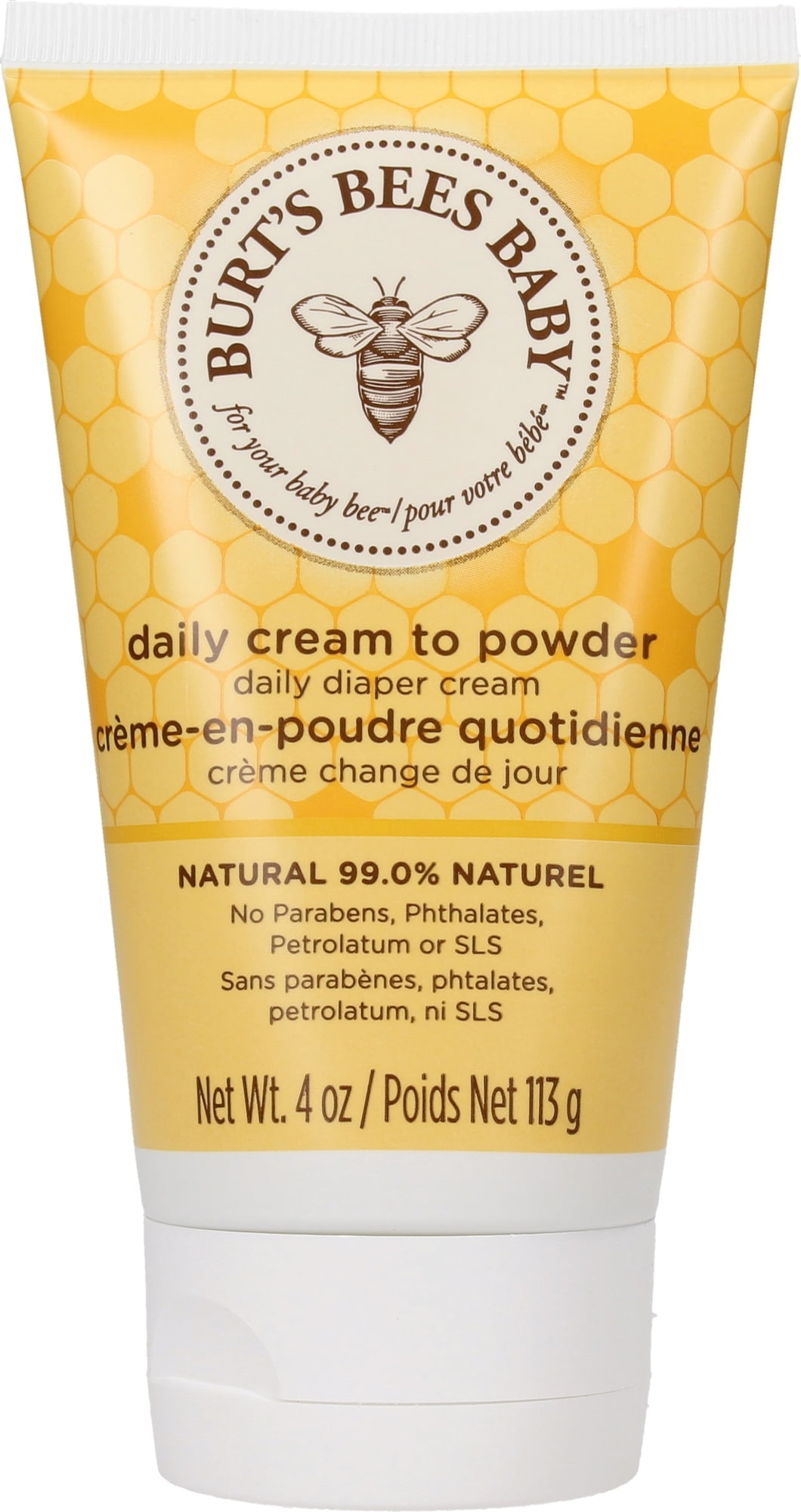 Burt's Bees Baby Bee 2in1 Diaper Cream & Baby Powder - 110 g von Burt's Bees