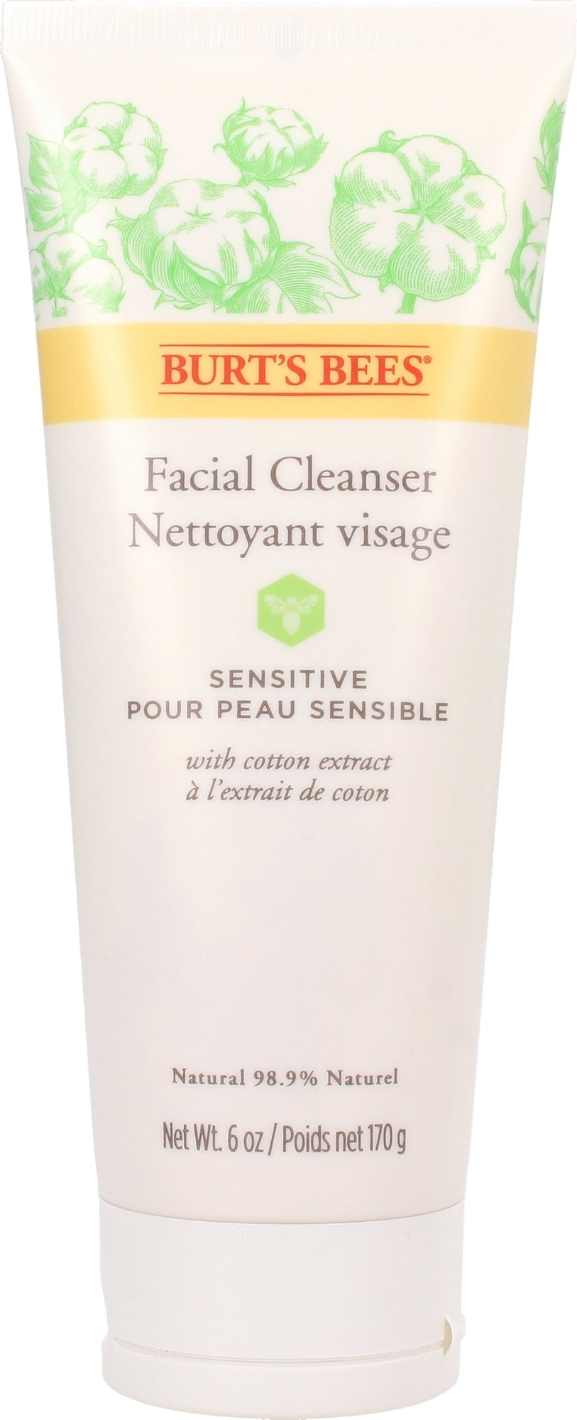 Burt's Bees Sensitive Facial Cleanser - 170g von Burt's Bees