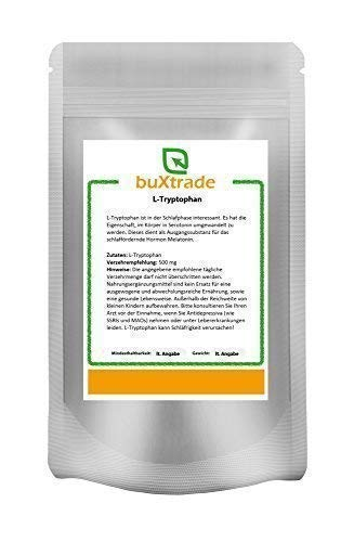 5 kg Tryptophan Pulver – Tryptophane | L-Tryptophan | Fitness | Sport | Schlaf von Buxtrade