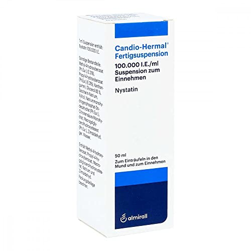 Candio Hermal Fertigsuspension 50 ml von ALMIRALL HERMAL GmbH