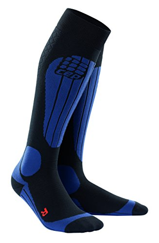 CEP pro+ ski thermo socks for men V black-deepblue von CEP