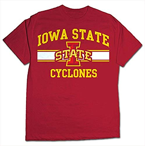 NCAA Iowa State Cyclones Stormster Short Sleeve Tee, Large, Cardinal von CI Sport