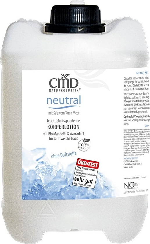 CMD Naturkosmetik Neutral Körperlotion - 2,50 l von CMD Naturkosmetik