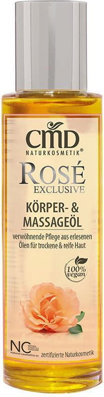 CMD Naturkosmetik Rosé Exclusive Körperöl (Massageöl) - 100 ml von CMD Naturkosmetik