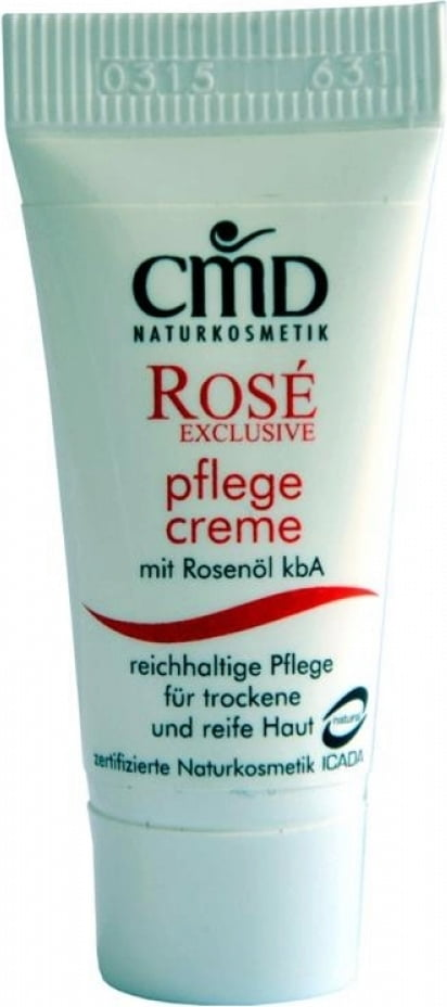 CMD Naturkosmetik Rosé Exclusive Pflegecreme - 5 ml von CMD Naturkosmetik