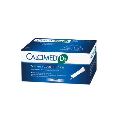 Calcimed D3 500 mg / 1000 I.E. Direct Granulat von Calcimed