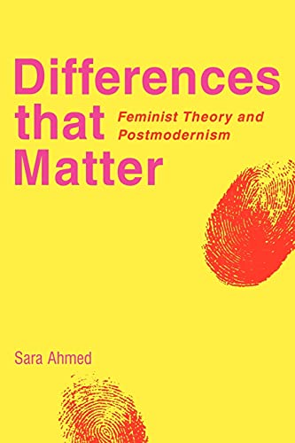 Differences that Matter: Feminist Theory and Postmodernism von Cambridge University Press