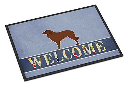 Caroline's Treasures Portuguese Sheepdog Dog Welcome Doormat 24 x 36 Multicolor von Caroline's Treasures