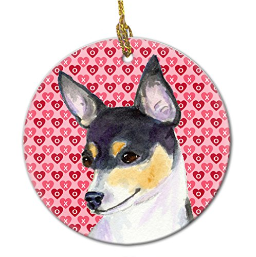 Caroline 's Treasures ss4518co1 Chihuahua Keramik Ornament, Multicolor von Caroline's Treasures