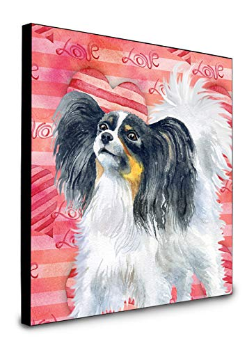 Carolines Treasures Papillon Love Wanddekoration, Mehrfarbig von Caroline's Treasures