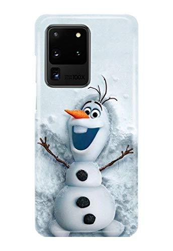 Case Me Up Handy Hülle für Samsung Galaxy S20 Ultra Frozen ELSA Anna Olaf Snowman Disney 10 Designs von Case Me Up
