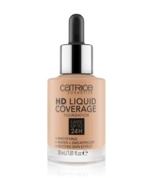 Catrice HD Liquid Coverage  Flüssige Foundation  30 ml Nr. 040 - Warm Beige von Catrice