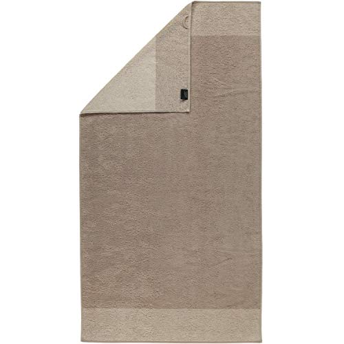 Cawö Luxury Home Duschtuch TWO-TONE | 33 sand - 80 x 150 von Cawö