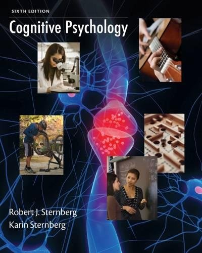 Cognitive Psychology von Cengage Learning, Inc