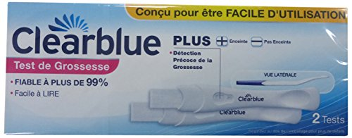 Clearblue Plus - 2 tests de grossesse von Clearblue