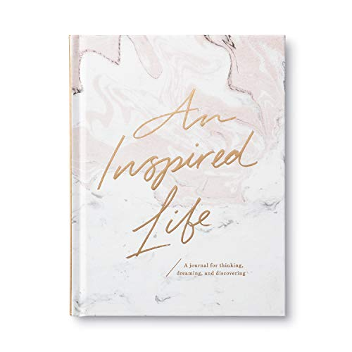 An Inspired Life: A Journal for Thinking, Dreaming, and Discovering von COMPENDIUM INC