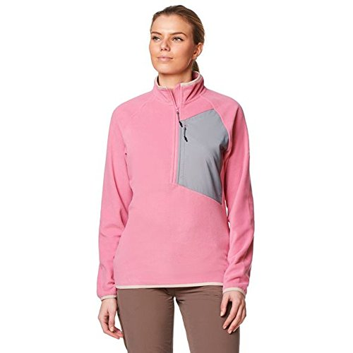 Craghoppers Damen Caitlin Half Zip Fleecejacken, English Rose, 46 von Craghoppers