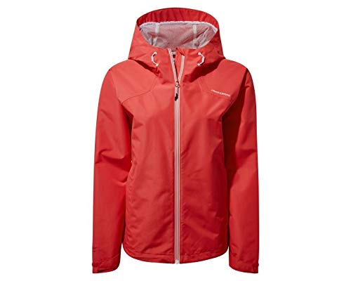 Craghoppers Damen Toscana Jacket Rio Red 8 Waterproof von Craghoppers