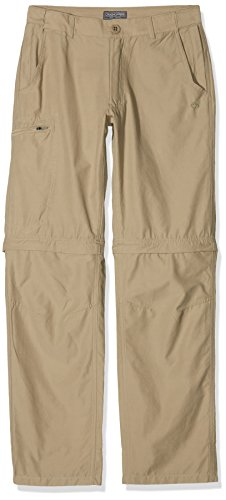 Craghoppers Herren Trek Convertible Hose, Rubble, 32 Zoll von Craghoppers