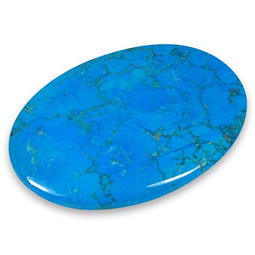 Blue Howlite Palm Stone by CrystalAge von CrystalAge