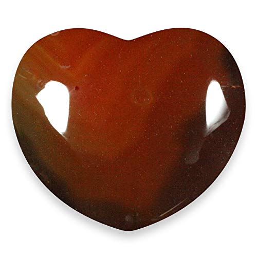 Carnelian Crystal Heart - 4cm by CrystalAge von CrystalAge