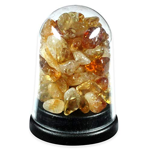 Citrine Energy Dome by CrystalAge von CrystalAge