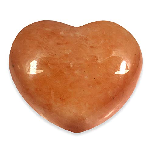 Red Aventurine Crystal Heart - 4.5cm by CrystalAge von CrystalAge