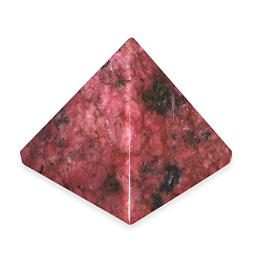 Rhodonite Pyramid YRD2 - Mini by CrystalAge von CrystalAge