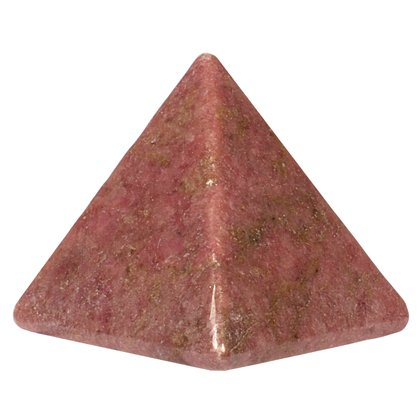 Rhodonite Pyramid YRD3 - Small by CrystalAge von CrystalAge