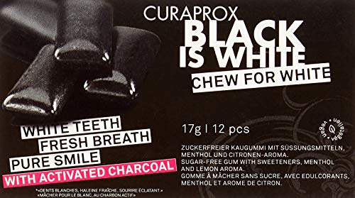 """CURAPROX Black is White - Kaugummi, 17 g"" von Curaprox"