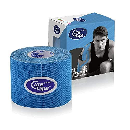 Cure Tape Sports, 5 m x 5 cm, wasserfest, blau von CureTape
