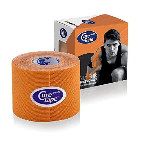 Cure Tape Sports, 5 m x 5 cm, wasserfest, orange von CureTape
