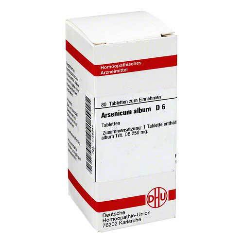 DHU Arsenicum album D 6 Tabletten von DHU