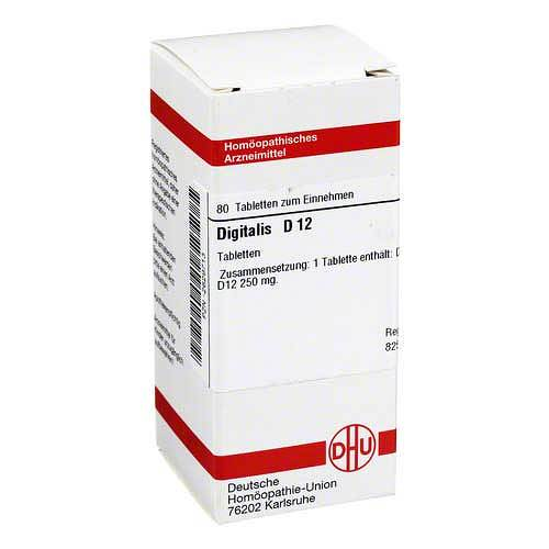 DHU Digitalis D 12 Tabletten von DHU
