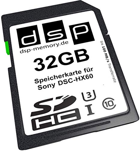 DSP Memory Z-4051557427945 32GB Ultra High Speed Speicherkarte für Sony DSC-HX60 Digital Kamera von DSP Memory
